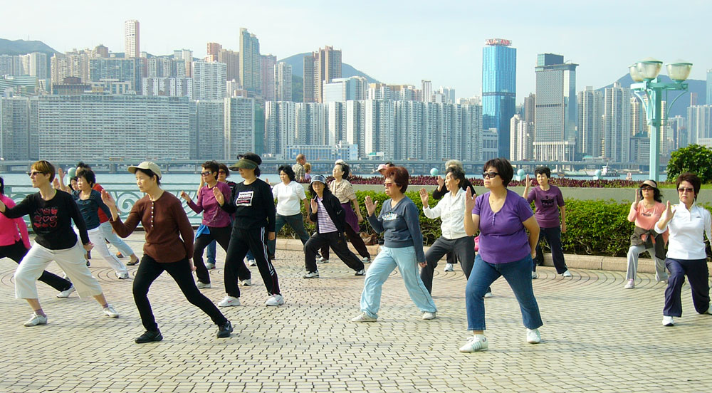Tai Chi in Hong Kong